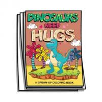Just for Fun - Dinosaurs Need Hugs Coloring Pages