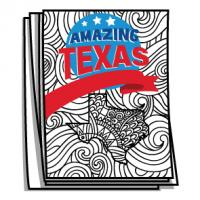Amazing America - Texas Bucket List Coloring Pages
