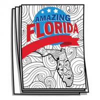 Amazing America - Florida Bucket List Coloring Pages