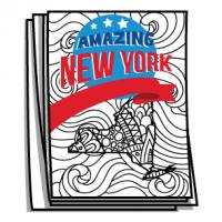 Amazing America - New York Bucket List Coloring Pages