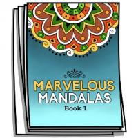 Marvelous Mandalas - Book 1 - Coloring Pages for Adults