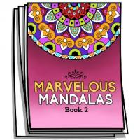 Marvelous Mandalas - Book 2 - Coloring Pages for Adults