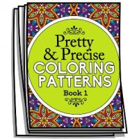 Pretty and Precise Patterns - Book 1 - Coloring Pages for Adults