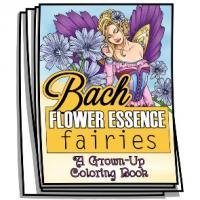 Aromatherapy - Bach Flower Essence Fairies Coloring Pages