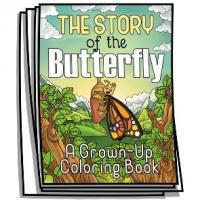 Inspire - Story of the Butterfly Coloring Pages
