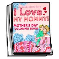 Baby Bump - I Love My Mommy Coloring Pages