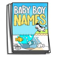 Baby Bump - Baby Boy Names Coloring Pages