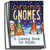 Just for Fun - Christmas Gnomes Coloring Pages