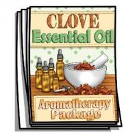 Aromatherapy - Clove Essential Oil Coloring Pages