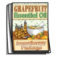 Aromatherapy - Grapefruit Essential Oil Coloring Pages