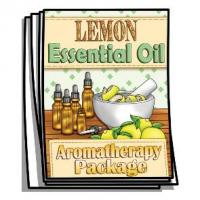 Aromatherapy - Lemon Essential Oil Coloring Pages