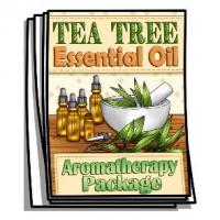 Aromatherapy - Tea Tree Essential Oil Coloring Pages