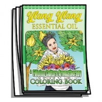 Aromatherapy - Ylang Ylang Essential Oil Coloring Pages