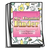 Coloring Journal - My Cleaning Binder