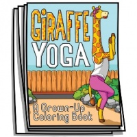 Just for Fun - Giraffe Yoga Coloring Pages
