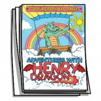 Inspire - Adventures with Henry Dragon Coloring Pages