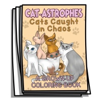 Just for Fun - Cat-Astrophes Coloring Pages