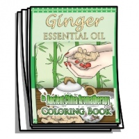 Aromatherapy - Ginger Essential Oil Coloring Pages