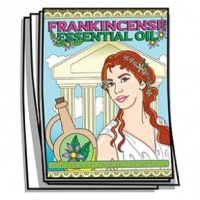 Aromatherapy - Frankincense Essential Oil Coloring Pages