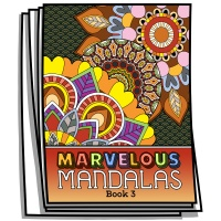 Marvelous Mandalas - Book 3 - Coloring Pages for Adults