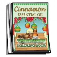 Aromatherapy - Cinnamon Essential Oil Coloring Pages