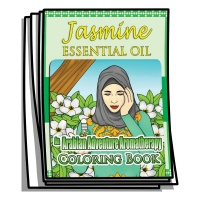 Aromatherapy - Jasmine Essential Oil Coloring Pages