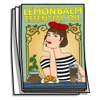 Aromatherapy - Lemon Balm Essential Oil Coloring Pages