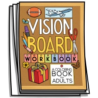 Inspire - Vision Board Workbook Coloring Pages
