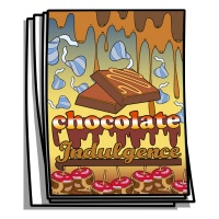 Just for Fun - Chocolate Indulgence Coloring Pages