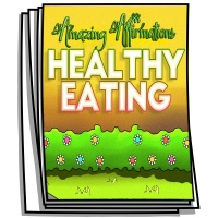 Amazing Affirmations - Healthy Eating Coloring Pages