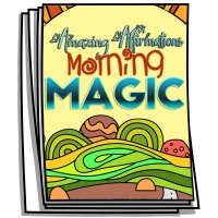 Amazing Affirmations - Morning Magic Coloring Pages