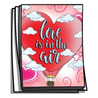 Inspire - Love is in the Air Coloring Pages Coloring Pages