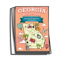 Amazing America - Georgia Bucket List Coloring Pages