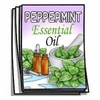Aromatherapy - Peppermint Essential Oil Coloring Pages
