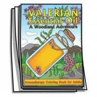 Aromatherapy - Valerian Essential Oil Coloring Pages