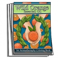 Aromatherapy - Wild Orange Essential Oil Coloring Pages