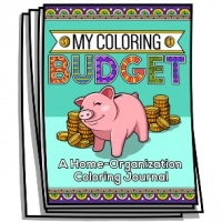 Coloring Journal - My Coloring Budget
