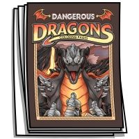 Inspire - Dangerous Dragons Coloring Pages