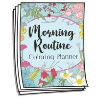 Coloring Journal - Morning Routine Planner