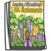 Amazing Affirmations - I AM Coloring Pages