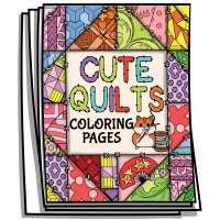 Inspire - Cute Quilts Coloring Pages