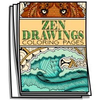 Inspire - Zen Drawings Coloring Pages