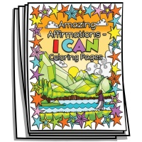 Amazing Affirmations I CAN Coloring Pages