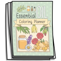Coloring Journal - Essential Oil Planner