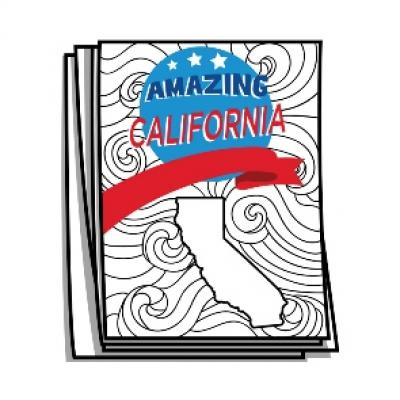 Amazing America - California Bucket List Coloring Pages