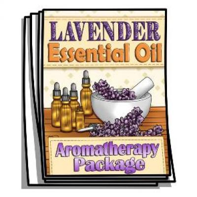 Aromatherapy - Lavender Essential Oil Coloring Pages