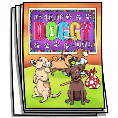 Coloring Journal - My Darling Doggy