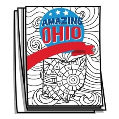 Amazing America - Ohio Bucket List Coloring Pages