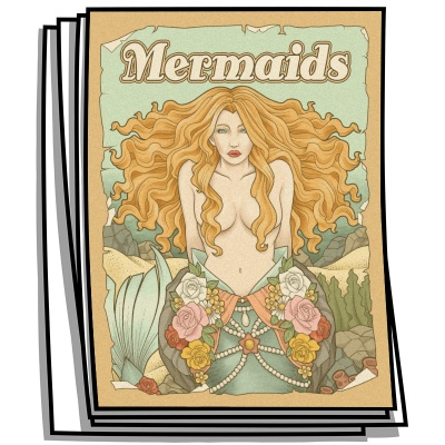 Inspire - Mermaids Coloring Pages