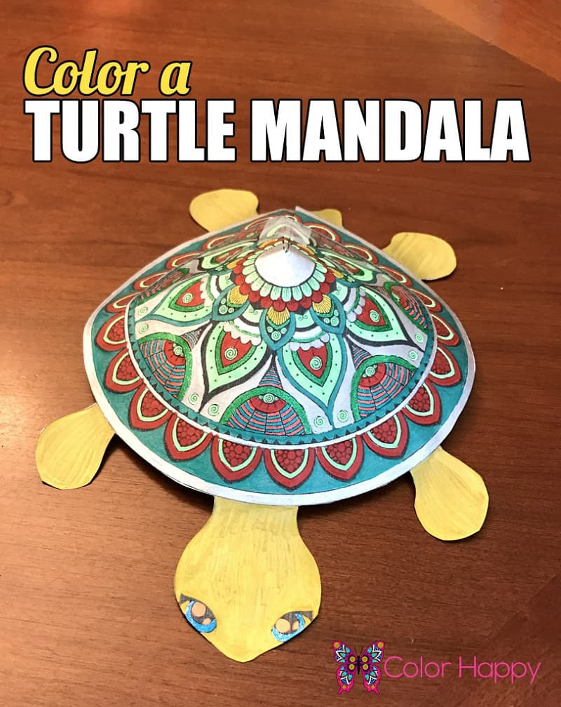 Color-a-Turtle-Mandala-812x1024